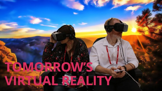 TOMORROW'S VIRTUAL REALITY