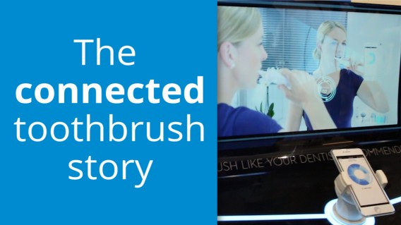 The connected toothbrush?