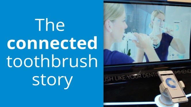 An online toothbrush? The Internet of Things is here