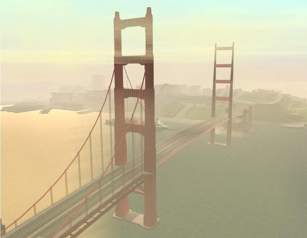 GTA - San Andreas - Gant Bridge