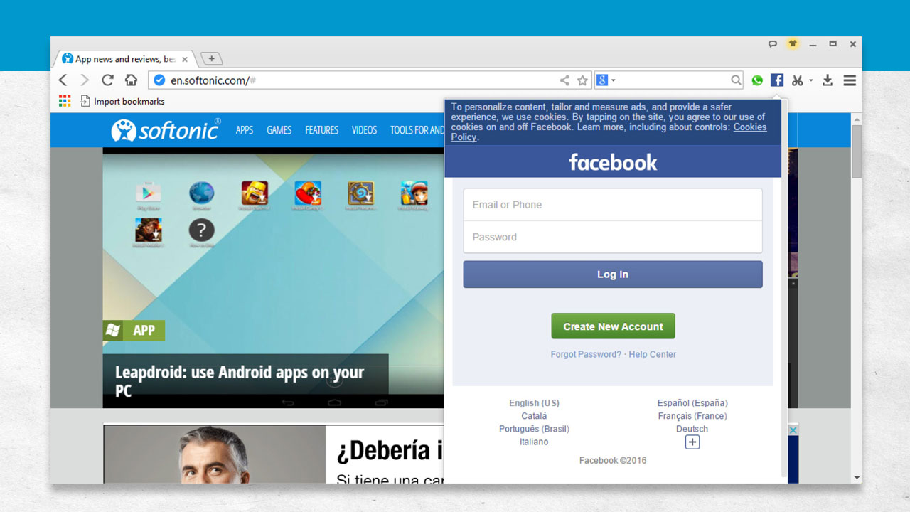 Baidu Browser - Facebook Extension
