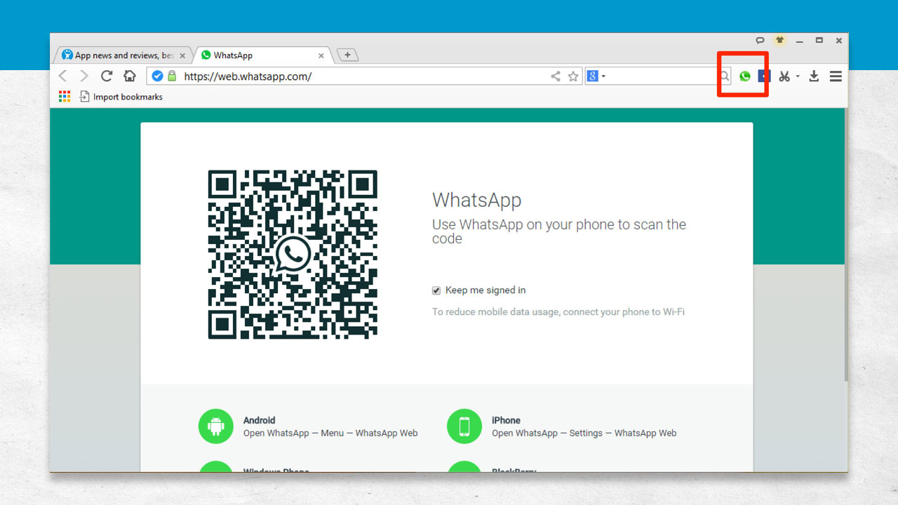 Baidu Browser - WhatsApp Integration