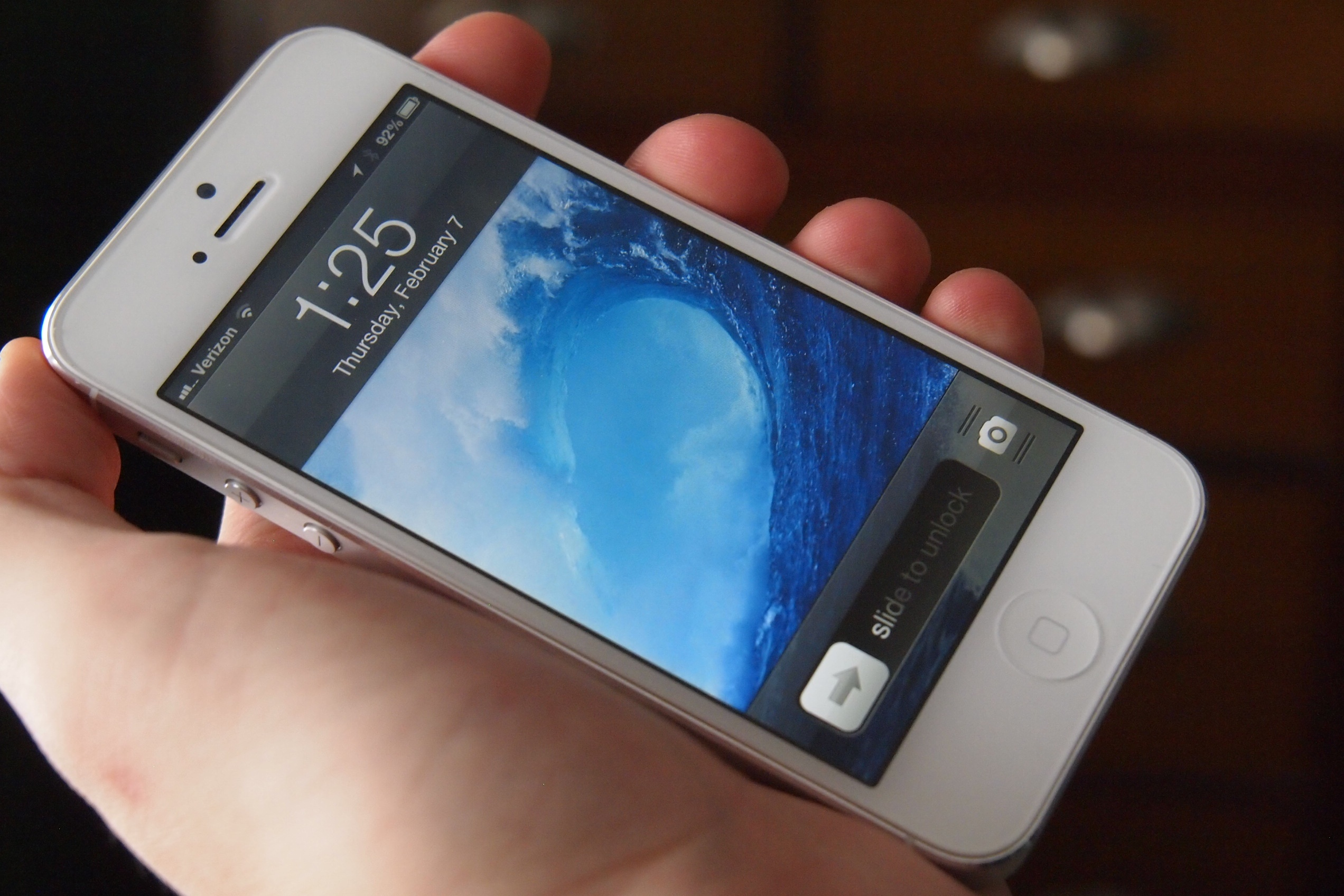 The latest iPhone craze (and you don't even have to unlock the screen)