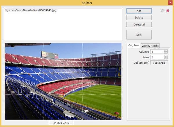 Photoscape - Image Splitter