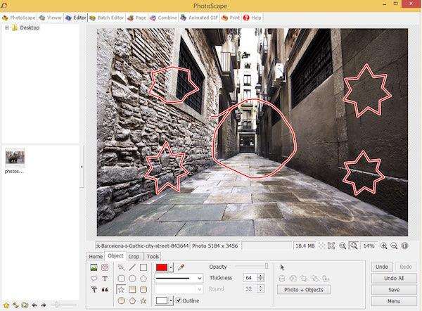 Photoscape - Object Draw