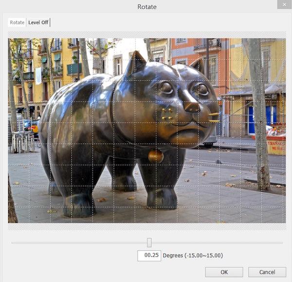Photoscape - Rotate Image
