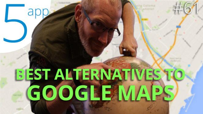 no text BEST ALTERNATIVES TO GOOGLE MAPS
