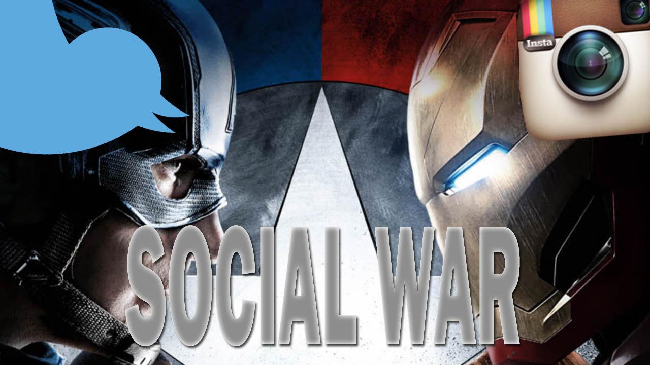 Superheroes get social