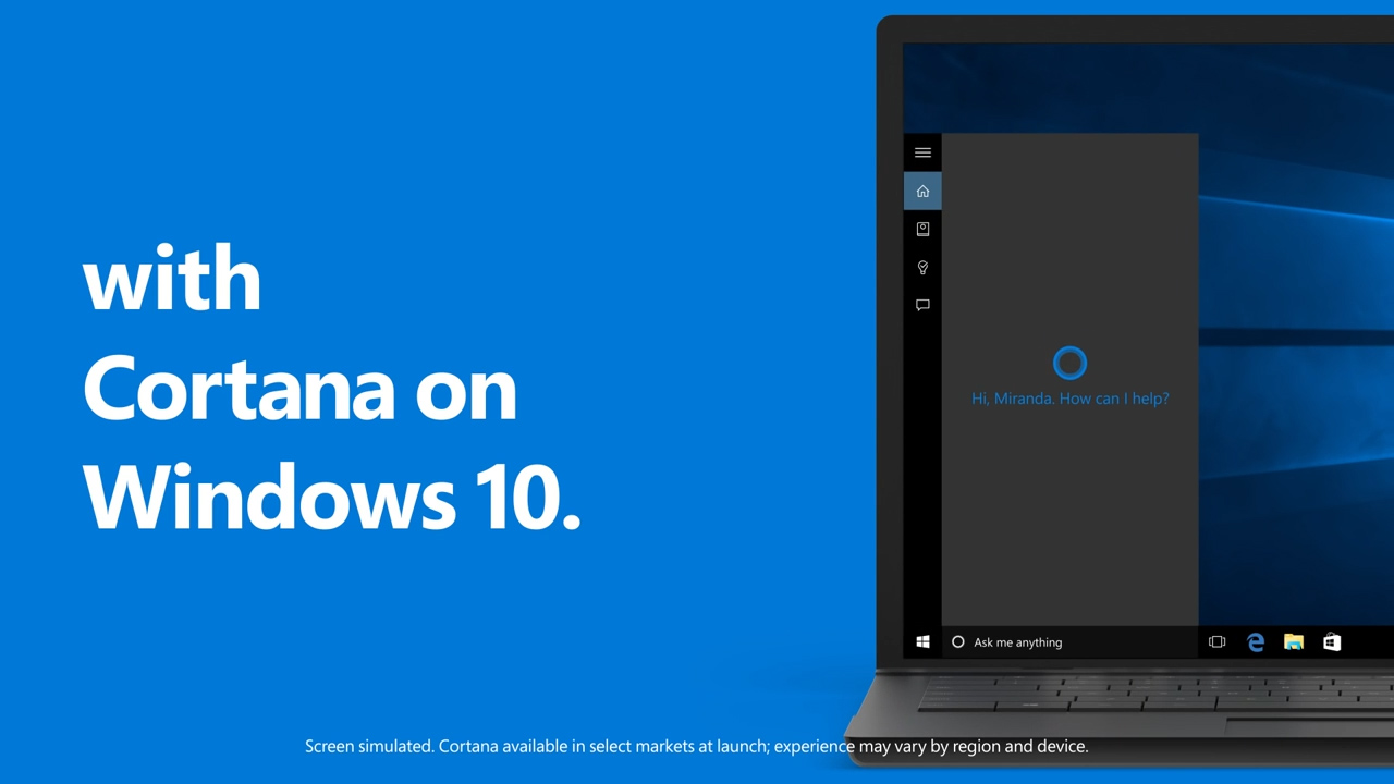 Big change for Windows 10's Cortana assistant