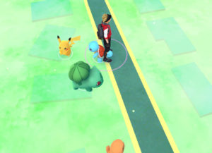 pokemon go how to get pikachu in white