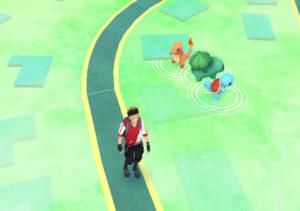 The Starting Three in Pokémon Go