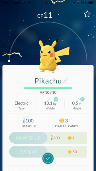 Starting with Pikachu