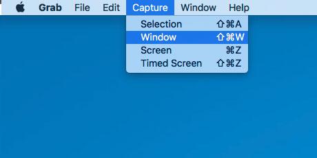 Mac Grab Screenshot Utility