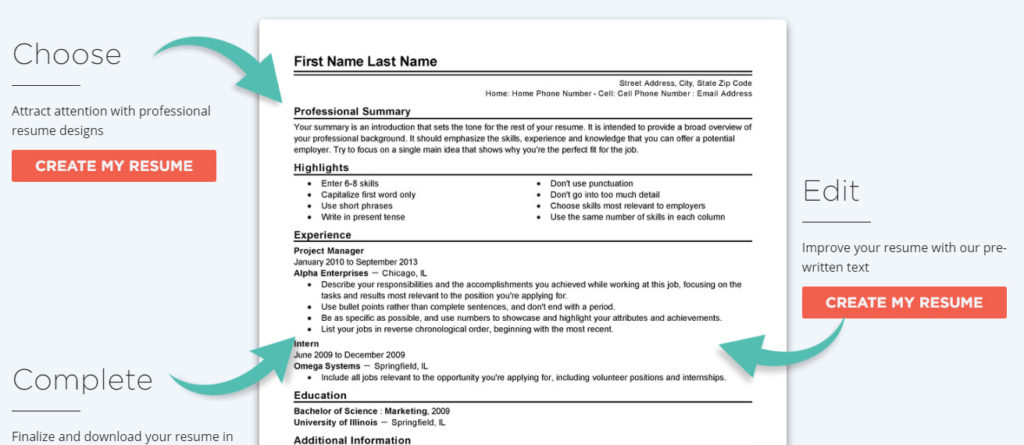 how to create the perfect cv to land a job