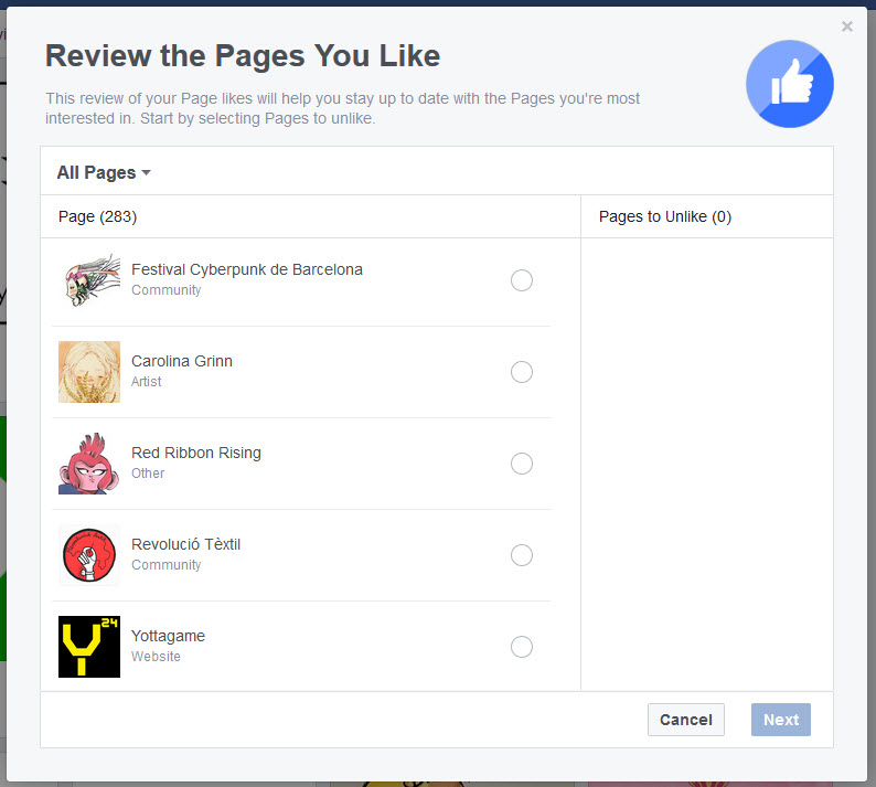 pages-you-liked