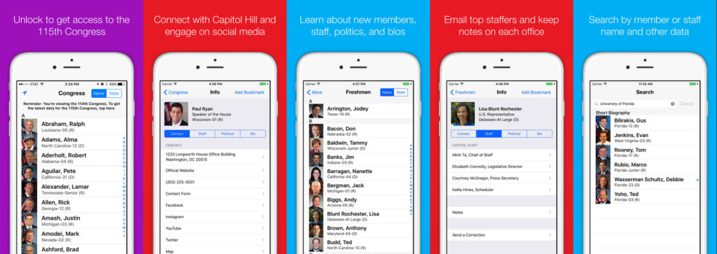 The Best Political Apps to Keep you Atop of the News Cycle - congress+