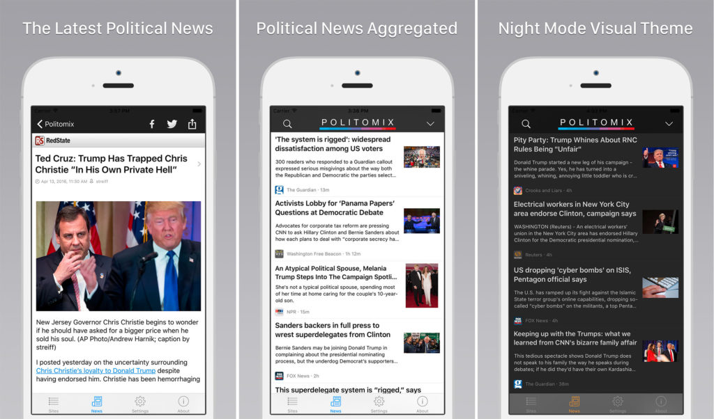 The Best Political Apps to Keep you Atop of the News Cycle - Politomix