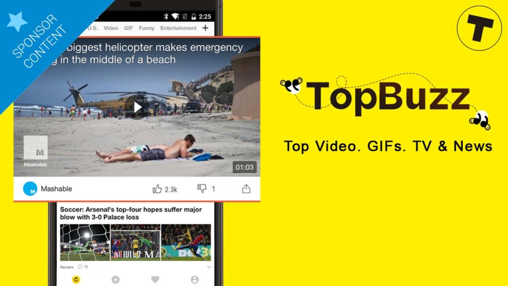 Top Buzz will bring you Content Content Content!