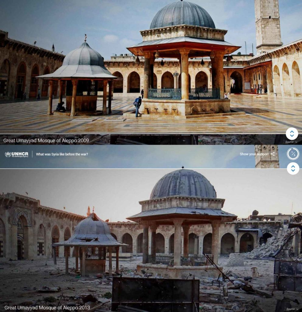 Google and the UNHCR Team up to Create Searching for Syria Project