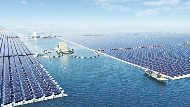 This Floating Power Plant Could Power Over 30,000 Homes
