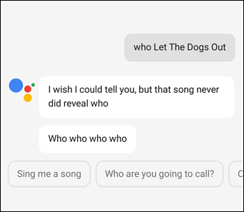 How to get Google Assistant to Cheer You Up dogs out