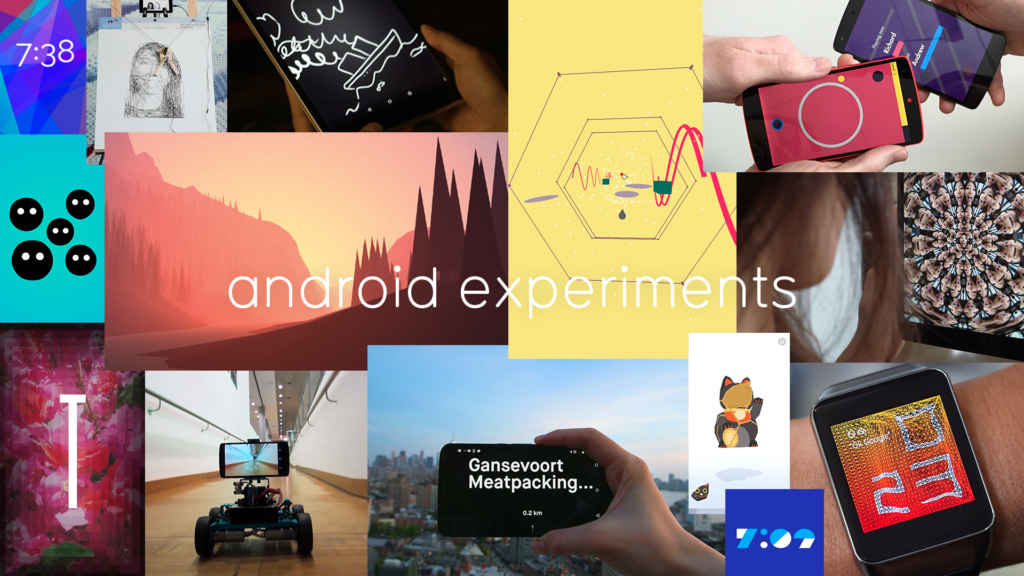 Android Experiments - Is this what the future looks like?