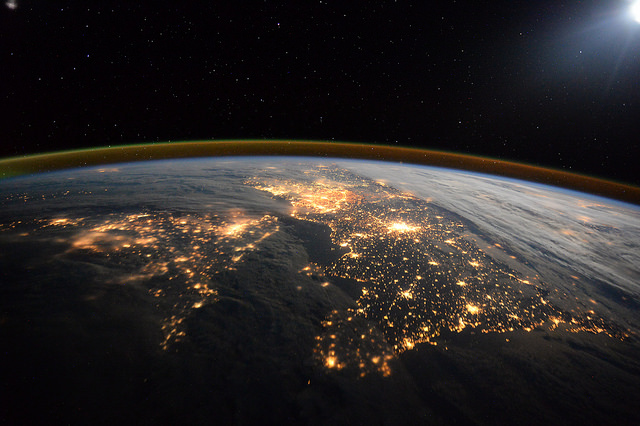 This Map Allows you to Be the Astronaut you Always Wanted to Be UK at Night