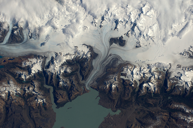 This Map Allows you to Be the Astronaut you Always Wanted to Be Ice Fields in Patagonia