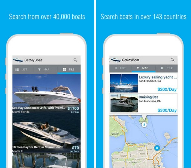 6 apps for the summer - get my boat