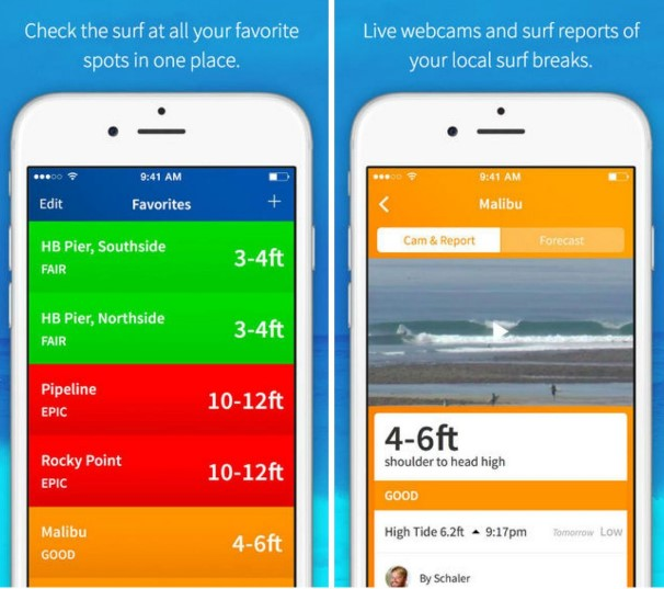 6 apps for the summer - surfline