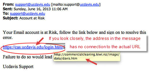 How to spot links you should NOT click under any circumstances