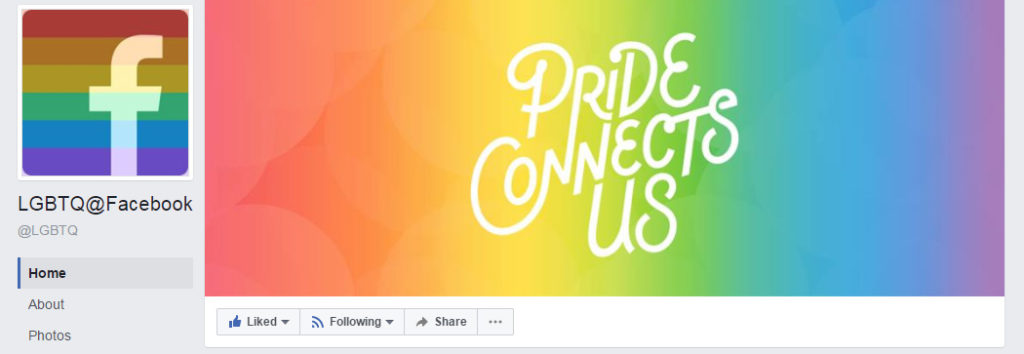 How to get the Pride Flag Reaction on Facebook