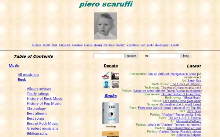 The 13 oldest web pages that are still working today scaruffi