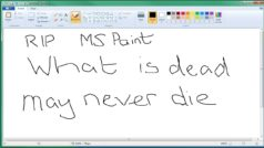Microsoft Paint is to be Killed off so let's Celebrate all its Glory