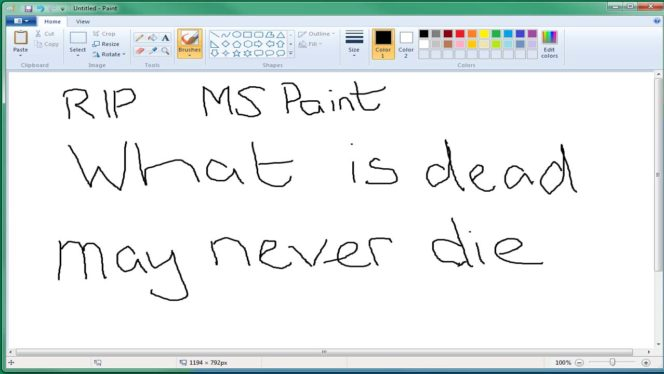 Microsoft Paint is to be Killed off so let's Celebrate all it's Glory