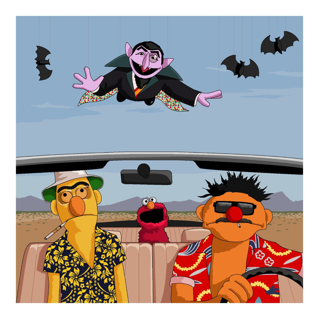 Microsoft Paint is to be Killed off so let's Celebrate all it's Glory Bert and Ernie Fear and Loathing