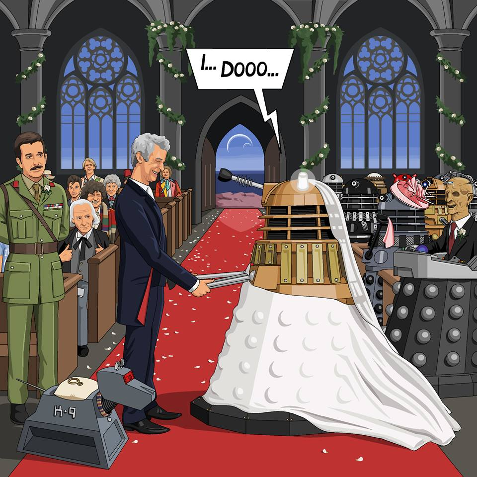 Microsoft Paint is to be Killed off so let's Celebrate all it's Glory Dr. Who marries a dalek