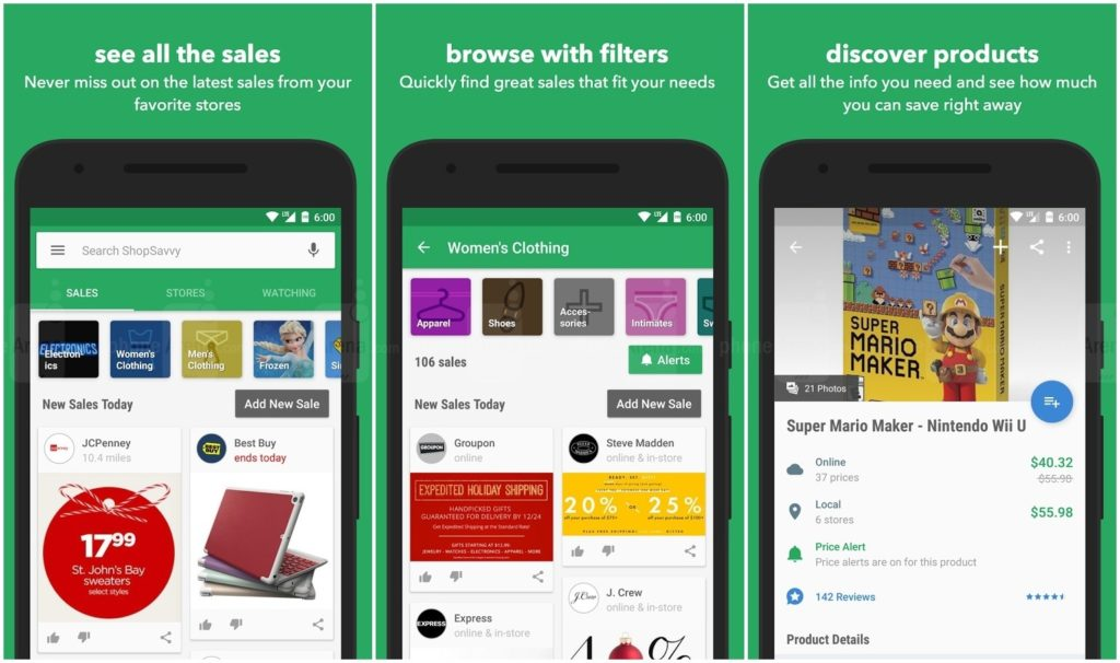 If you love shopping, you need these 6 apps ShopSavvy