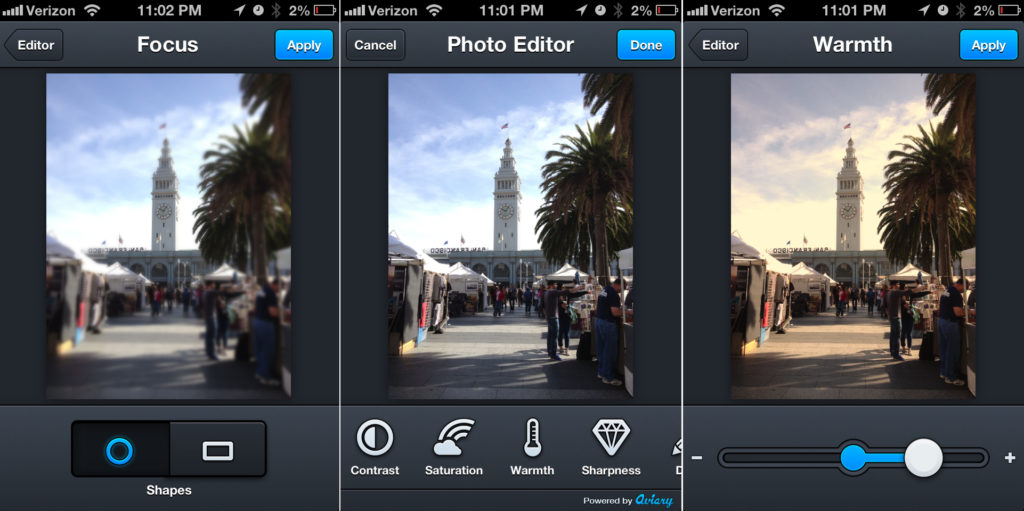 Use these 5 apps for taking the best selfie aviary_filters