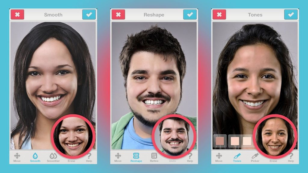 Use these 5 apps for taking the best selfie facetune-app