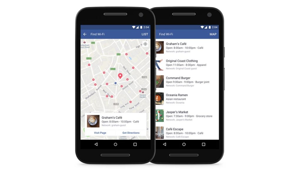 Facebook Will Soon help you Find Free Wi-Fi all Over the World