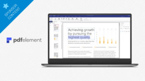 PDFelement 6: your flexible and easy-to-use solution for creating and editing PDFs