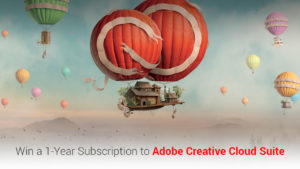 Giveaway: Win a 1-Year subscription to Adobe Creative Cloud worth $599.88/yr!