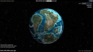 This is what the Earth looked like Millions of Years Ago