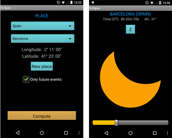 eclipse-simulator-android