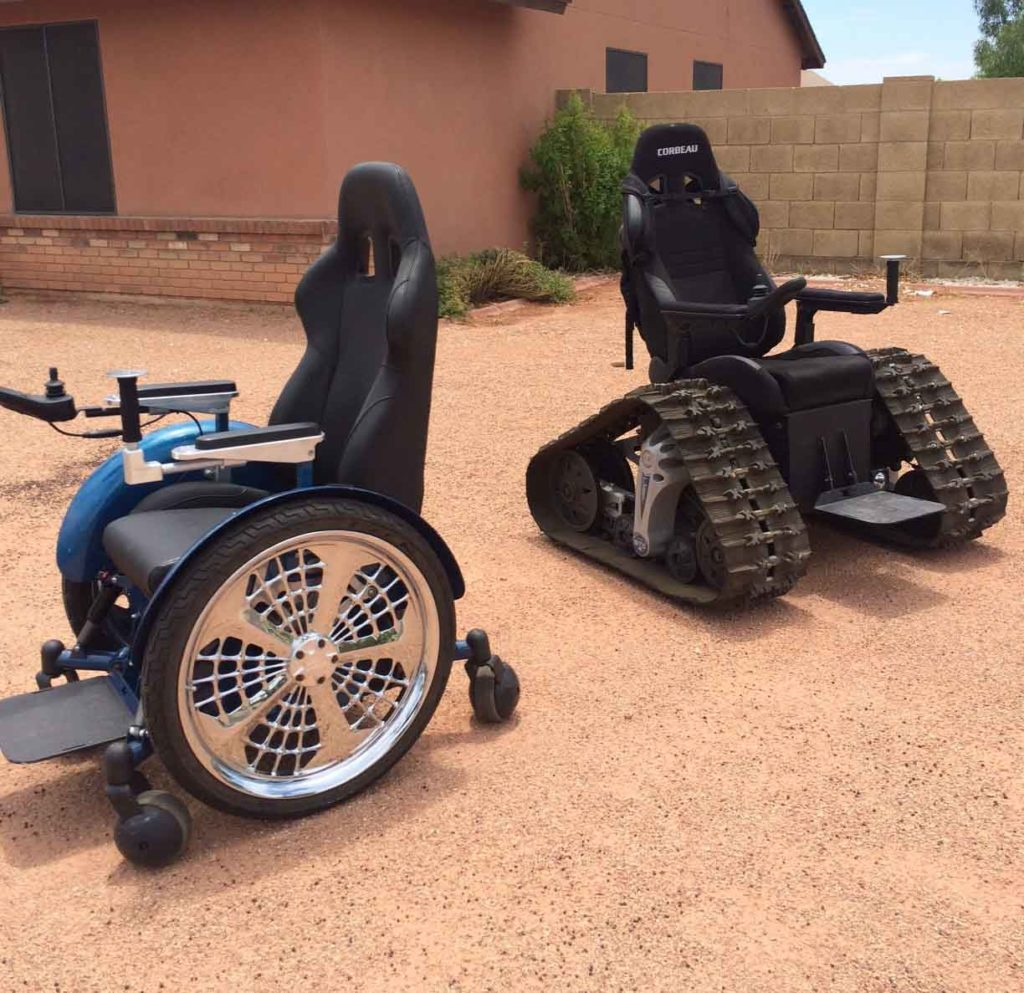 Check out these Unbelievable Tech Related Yard Sale Finds! wheelchair tanks