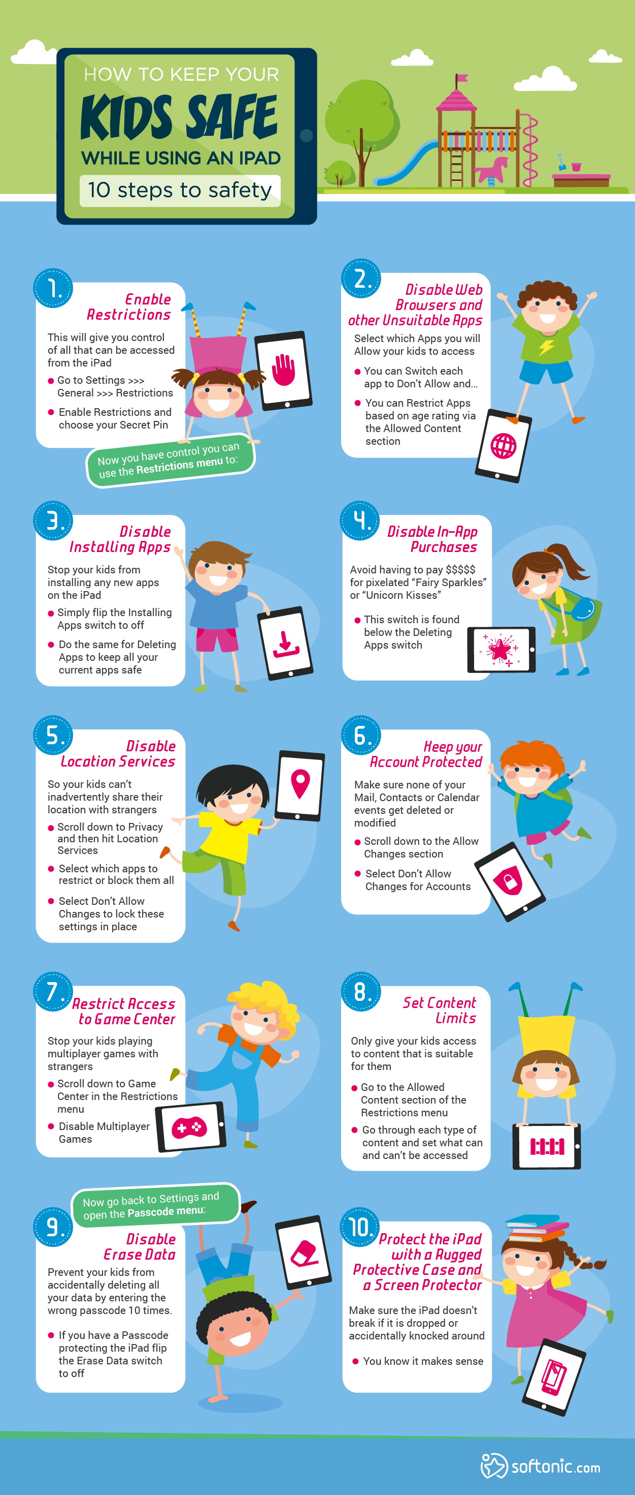 How to keep your kids safe while they're using an ipad