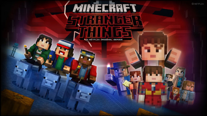 Go Upside Down with Stranger Things Skins in Minecraft