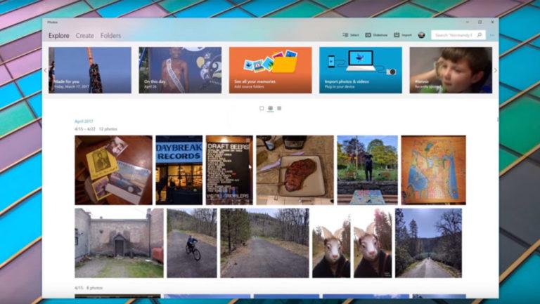 Windows 10 Fall Creators Update: Fluent Design – The New Interface