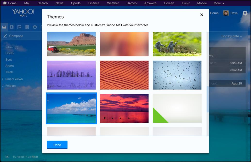5 ways to customize Yahoo! Mail